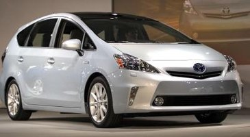 The generation III Prius offers LED headlights as an option.