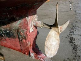 "The propellers of ships are referred to as ""screws."""