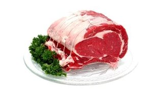 A rib roast is easily deboned before or after cooking.