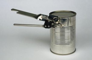 If you are going to heat food in a can, it is safer to open it first.