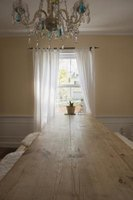 Drapes can add dimension to a room.