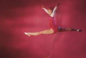 Switch leaps are an accepted gymnastics and dance leap.
