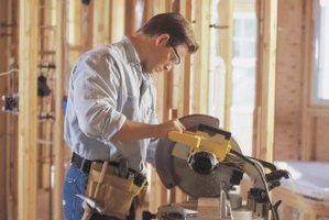 A miter saw will help you make clean and accurate cuts.