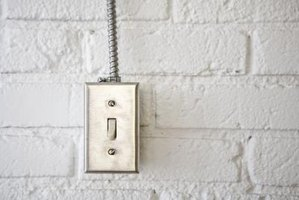 Wiring a Cooper light switch provides control over your lights.