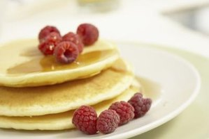 Pancakes are a classic breakfast food that can be made in a variety of flavors.