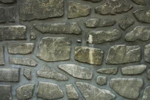 Rock walls add naturalism and texture.