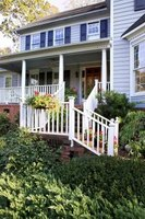 Examine different styles of front porches.