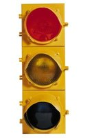 Use a traffic light as a decorative accessory.