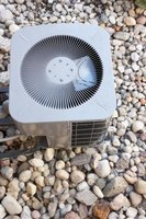Air conditioner units can clutter your landscape.