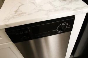 Having a raised dishwasher installed reduces stress on the lower back.