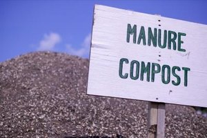 High-heat composting is an effective way to sterilize manure.