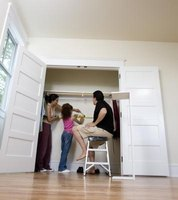 Let the kids help to create a secret passage to the playroom.