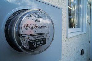 Increase electrical usage and your meter speeds up.