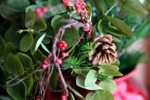 Berries of all seasons can be used in floral arrangements.