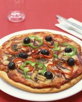 Having vegetables on your pizza is one way to make your meal more nutritious.