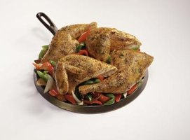 Baked chicken provides an impressive main course with minimal effort.