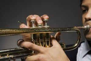 Beginner trumpet players will need to develop their lip muscles over time to produce a high quality sound.