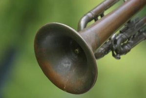 Re-lacquering a trumpet adds a new feel to the instrument