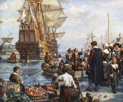 The mayflower may have been named after the ship that arrived in Massachusetts in 1620.