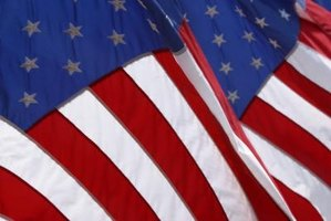 The red stripes on the American flag are dyed Old Glory Red.