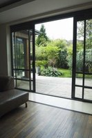 Repairing a stuck sliding glass door can be done quickly and easily.