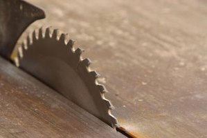 Each saw blade or cutting device creates a kerf area.