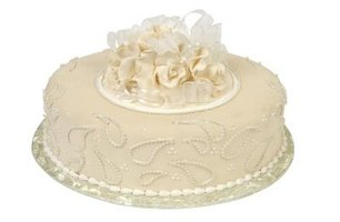 Dirty icing gives fondant a smooth surface to hold onto the cake.
