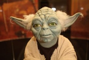 Yoda is a popular character at Star Wars conventions across the country.