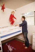 Loft beds lift the bed to provide usable space under it.