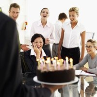 Make sure there is plenty of birthday cake for everybody at work.