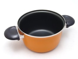 Circulon and Teflon are two nonstick coatings for cookware.