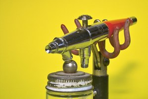 Using a spray gun will improve finish quality and reduce painting time.