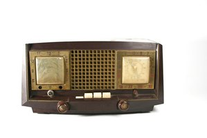 Collectibles like antique radios are often made of Bakelite.