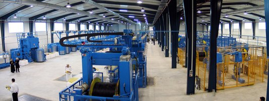 Chillers maintain proper industrial operating conditions.