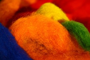 A variety of machine or hand-sewing techniques can be used to stitch felted wool projects.