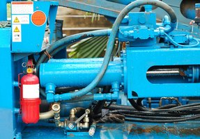 Quieting a whining hydraulic pump requires troubleshooting the hydraulic system.