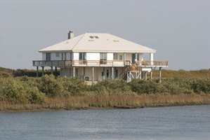 A beach house needs protection from water damage.