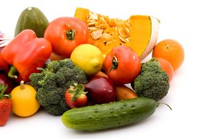 Eat lots of vegetables. They are low in calories and fill you up easily.