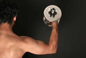 Use weights to increase arm strength.