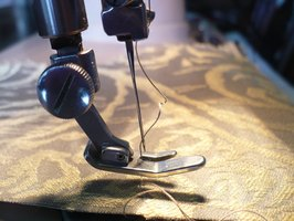 All types of sewing machines can sew through thick and thin materials but the model matters.