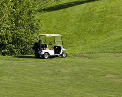 Golf carts need working brakes for traversing steep hills and terrain.