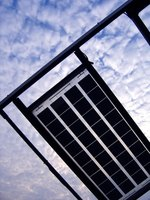 Solar cells within a solar panel