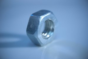 Use a hex nut to make a ring.