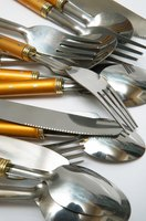 Properly care for flatware to keep it rust-free.