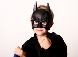 Now your child can have a cape to go with his superhero costume.