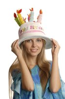 Although you can buy crazy hats, it is more fun to create your own.