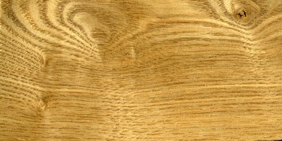 Stain highlights the natural beauty of oak.