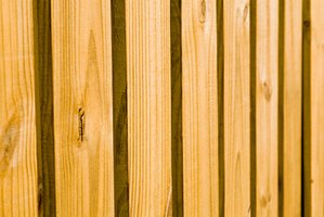 Cedar is a good wood to make furniture from because of its natural color.