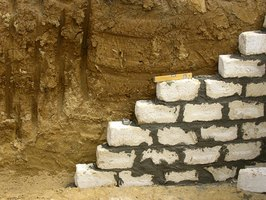 A Michigan basement typically has either stone or cement walls.