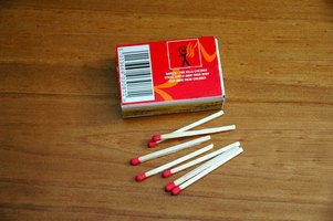 Matches are made from potassium chlorate and red phosphorus.